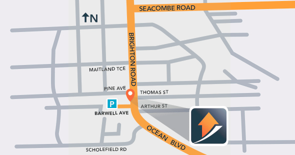 Home Loans and More Seacliff Office location map